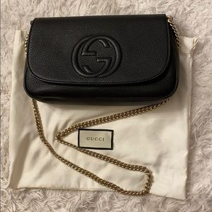 Gucci soho crossbody/clutch bag